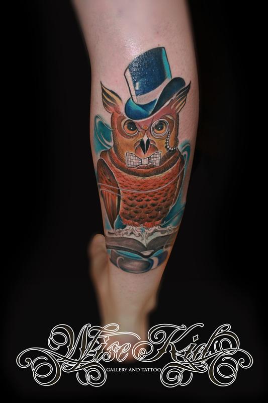 Wise Kid Tattoo And Gallery Amsterdam Tattoo Artist Amsterdam